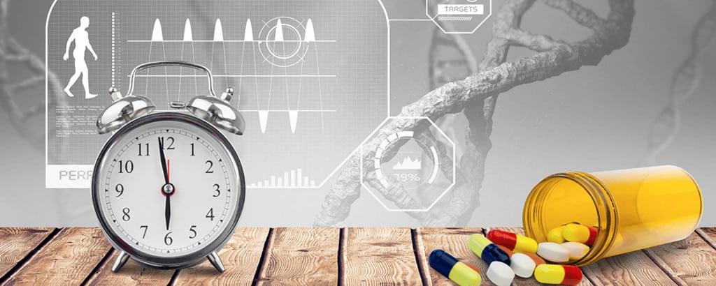 chronofarmakologia- wpływ zegara biologicznego na kinetykę leków